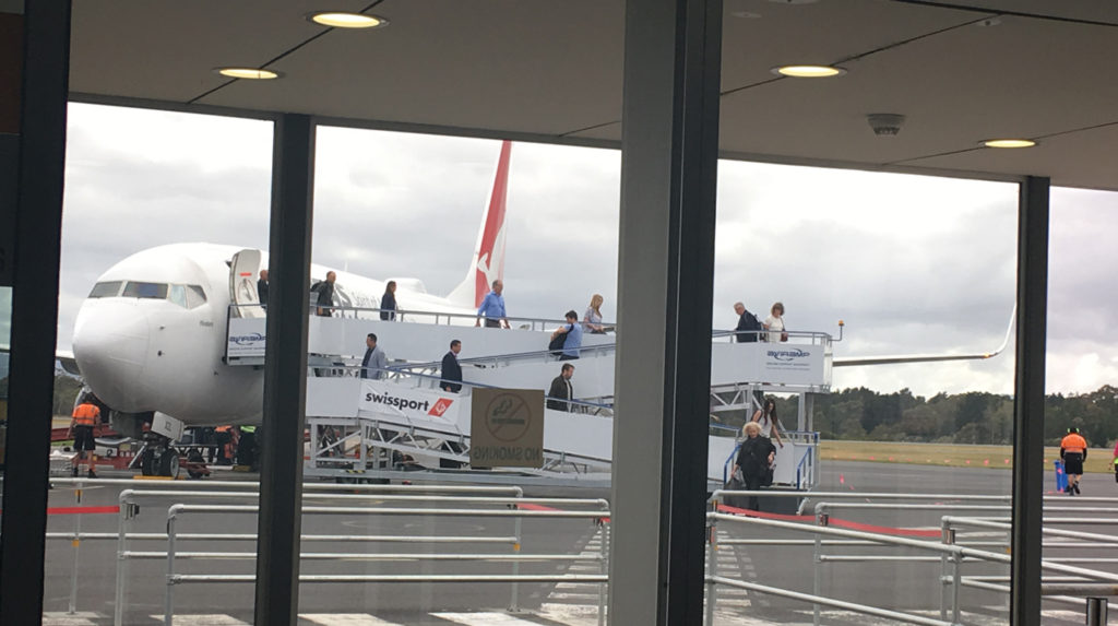 hobart airport wheelchair ramp access