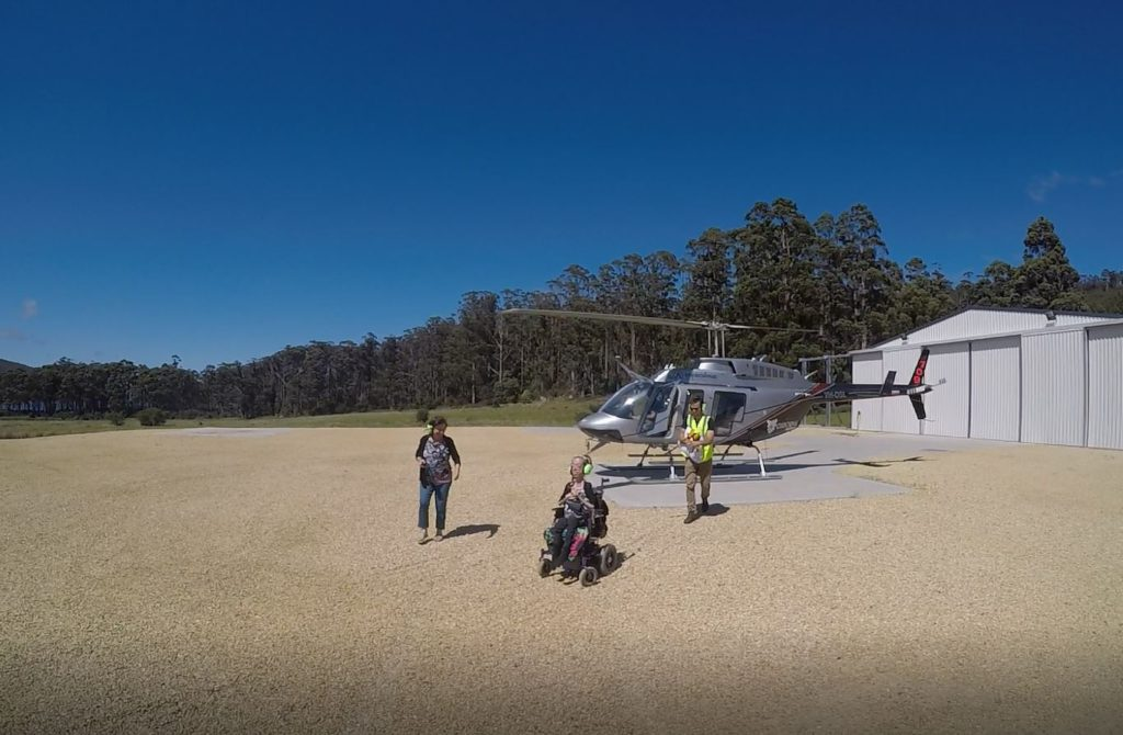 Osborne heli tours wheelchair access