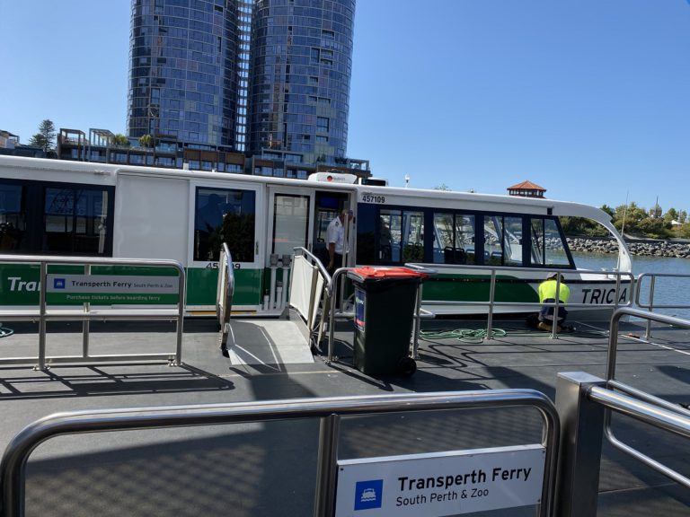 Wheelie Accessible Adventures Transperth Ferry