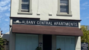Albany Central Apartments Front Photo