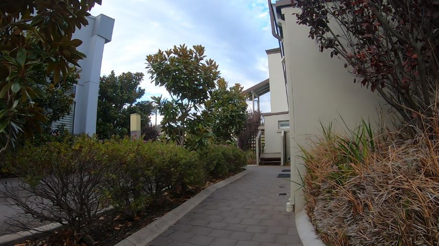 Albany Central Apartments Pathway