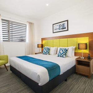 Quest Chermside on Playfield 2BR Main Bedroom