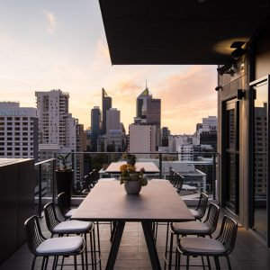 Quest East Perth CEO SkyLounge Boardroom Terrace