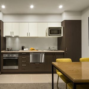 Quest East Perth One Bedroom Apartment Kitchen