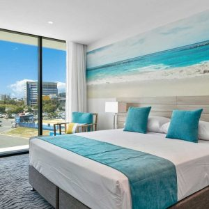 Rydges Gold Coast Airport Accessible room bed