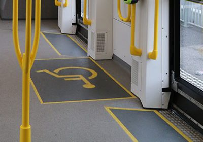accessible tram 96 access