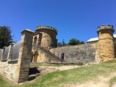 Port Arthur Historic site wheelchair access