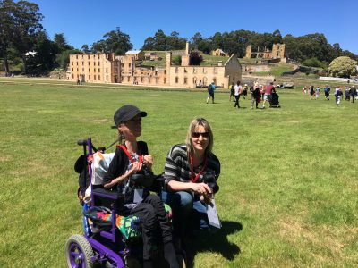 Port Arthur Historic site wheelchair reviews